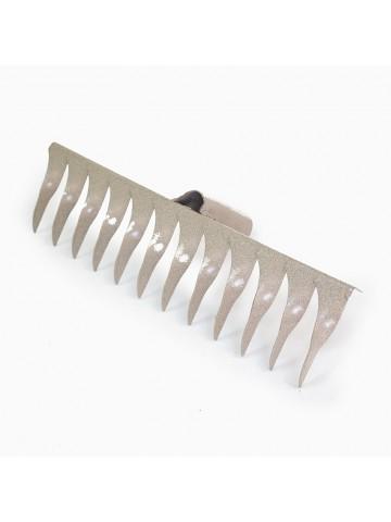 Грабли металлические витые 12-зубые