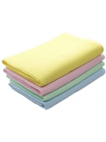 Полотенце вафельное цветное 45х80 см