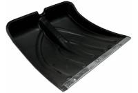 Лопата снеговая пластиковая №6 380х380 с планкой
