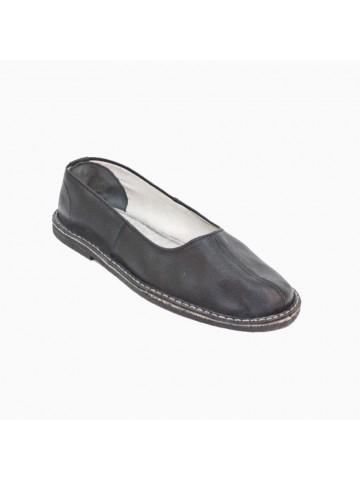 Тапочки (чувяки) кожаные, черные