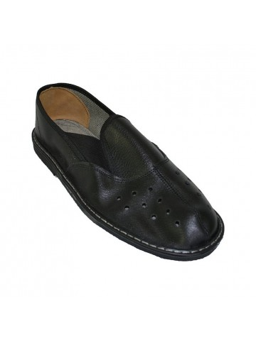 Туфли (чувяки) кожаные, черные