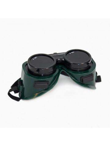 Очки защитные газосварщика двойные стёкла