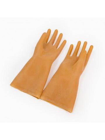 Перчатки диэлектрические латексные, бесшовные