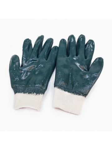 Перчатки нитриловые, манжет - резинка