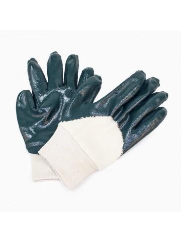 Перчатки нитриловые, частичное покрытие