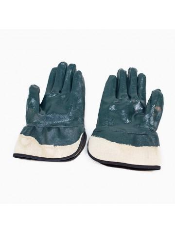 Перчатки нитриловые, манжет - крага