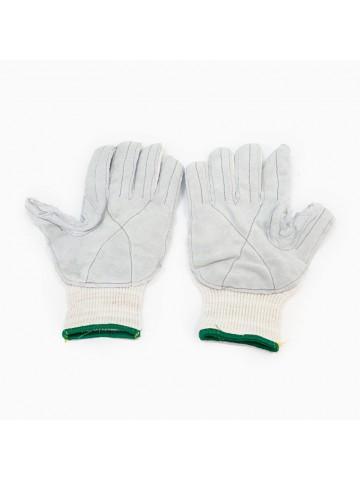 Перчатки х/б (13 кл) со спилковым наладонником «Комфорт»
