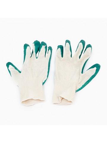 Перчатки х/б с латексным покрытием ладони
