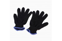 Перчатки х/б 4-х нитка черный
