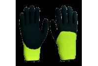 Перчатки акриловые утепленные, покрытые вспененным латексом